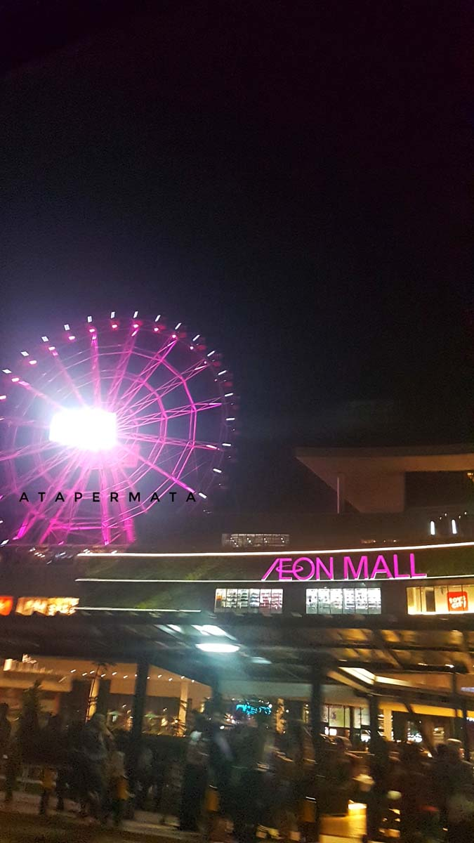 Ceri A Ta Naik Bianglala Di Aeon Mall Jakarta Garden City