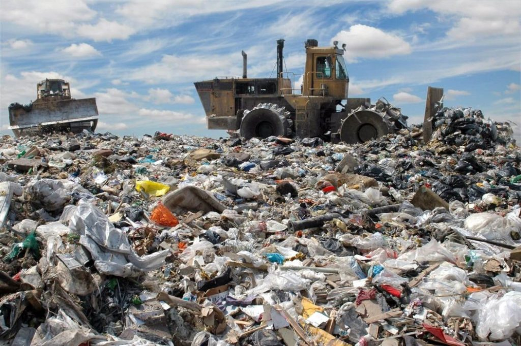 Landfill - Stop Using Plastic