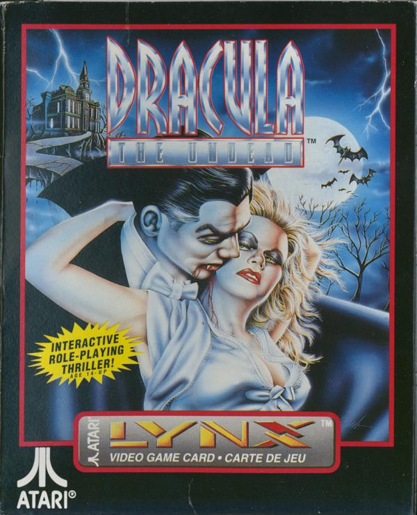 Dracula the Undead - Box Front