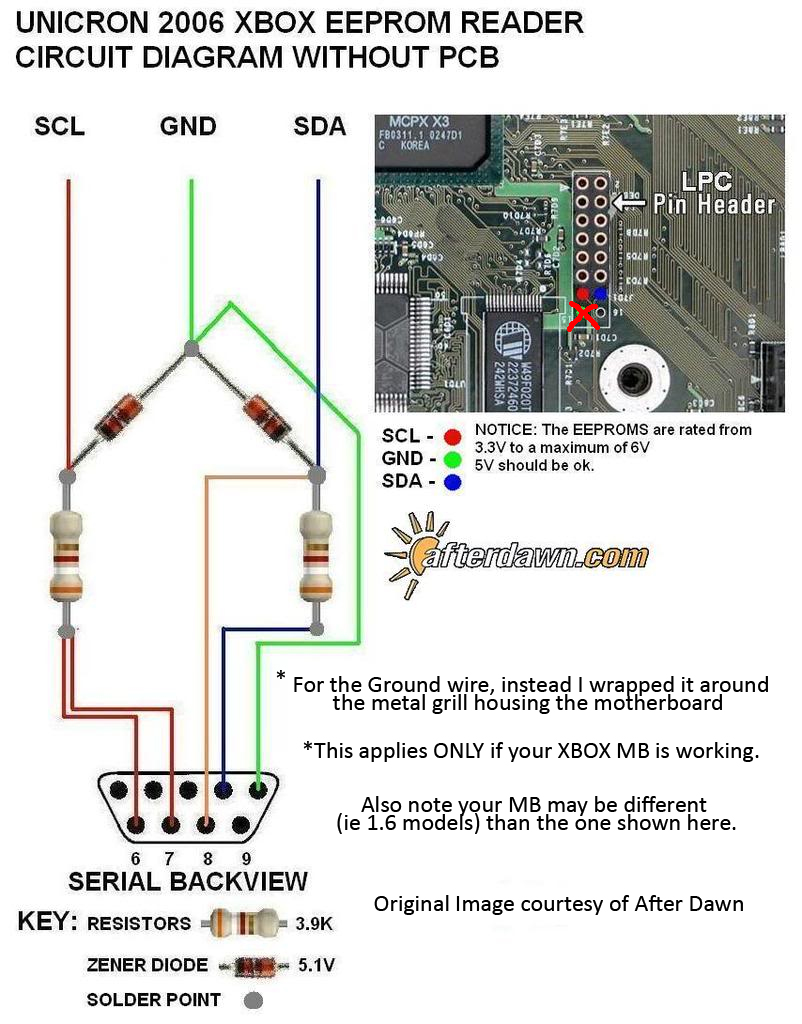 hight resolution of my experience making an original xbox eeprom reader atariage forums rh atariage com xbox one headset wiring diagram xbox one controller wiring diagram