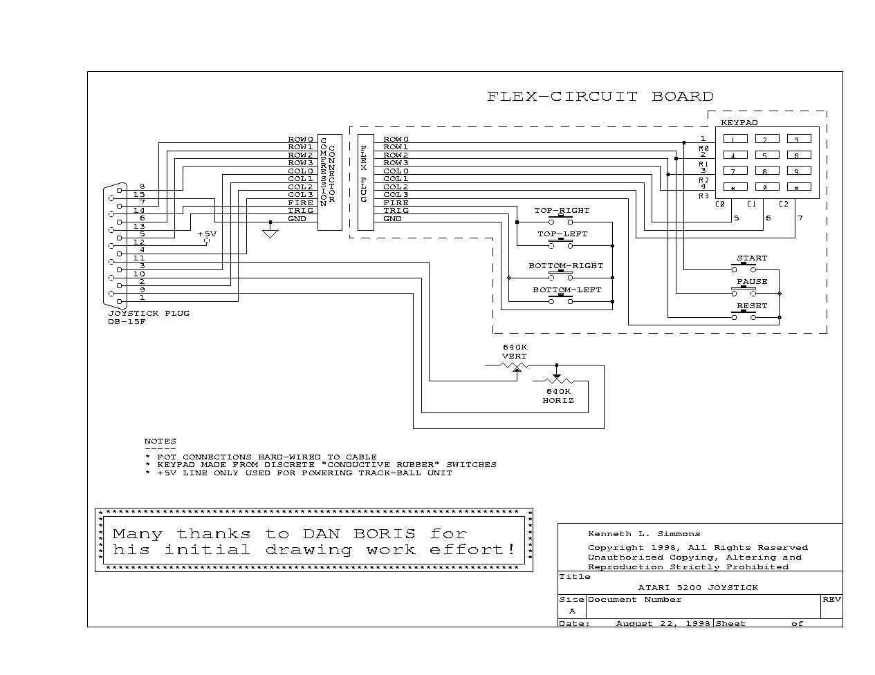 Atari 7800 Joystick Wiring Diagrams : 35 Wiring Diagram