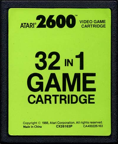 Image result for 32 games in 1 2600