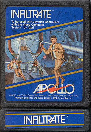 Atari 2600 VCS Infiltrate Scans Dump Download