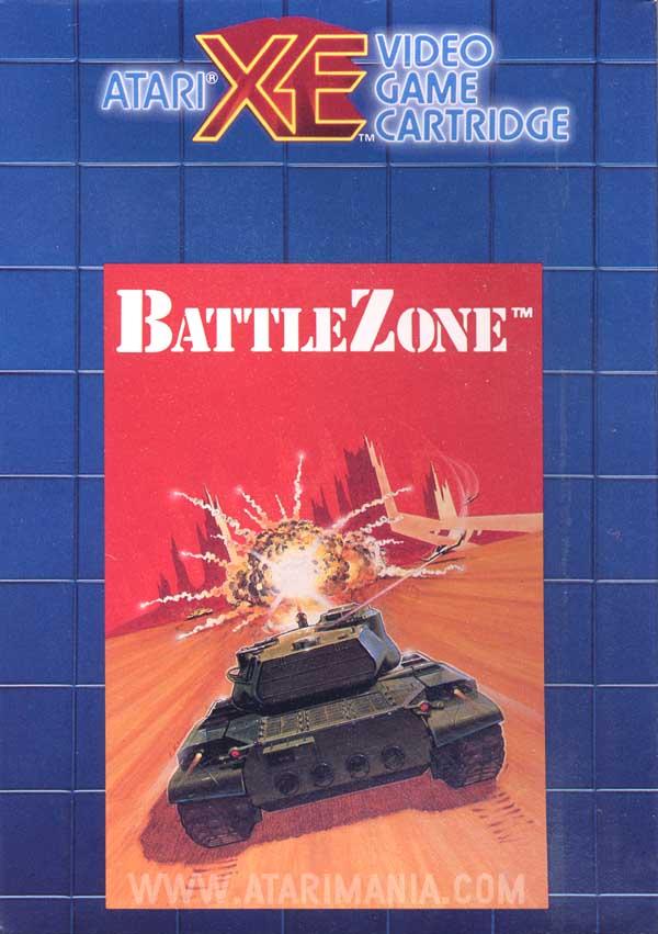 Atari 400 800 XL XE BattleZone  scans dump download screenshots ads videos catalog