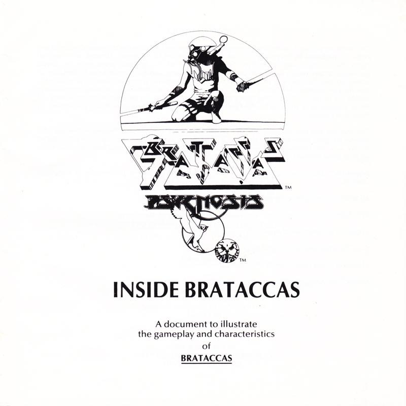 Atari ST Brataccas : scans, dump, download, screenshots