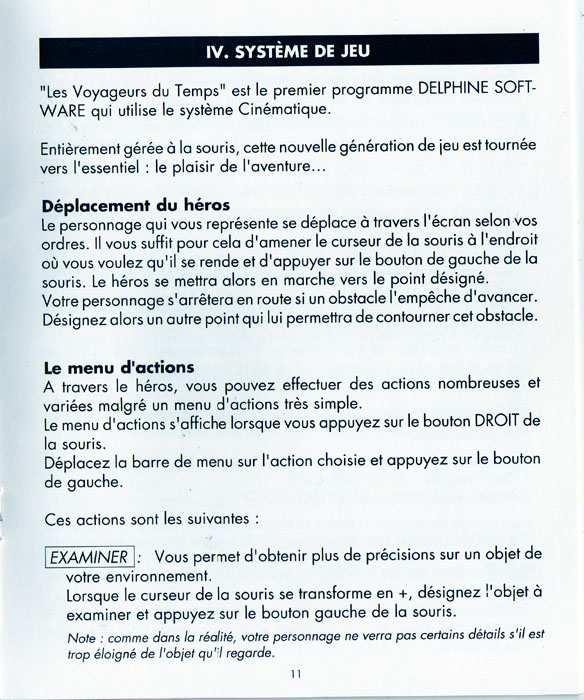 Atari ST Voyageurs du Temps Les  scans dump download
