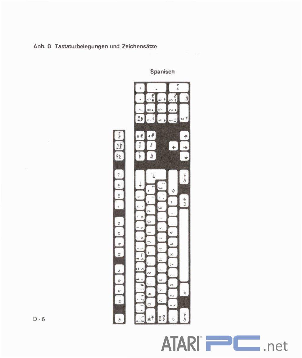 Atari PC4 (Mitac) User Manual – German