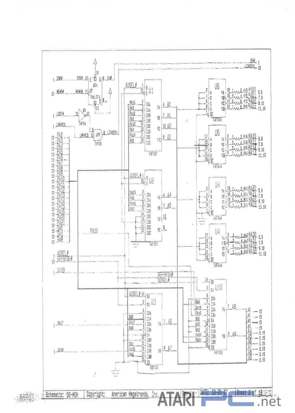 Atari PC5 (AMI-386 BIOS PLUS) User Manual