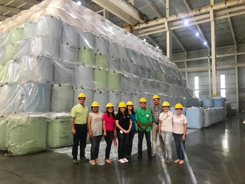 Comité en las instalaciones de Central Izalco
