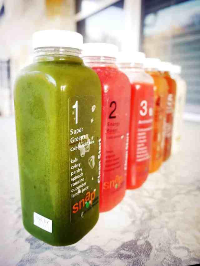 Snap Kitchen juice