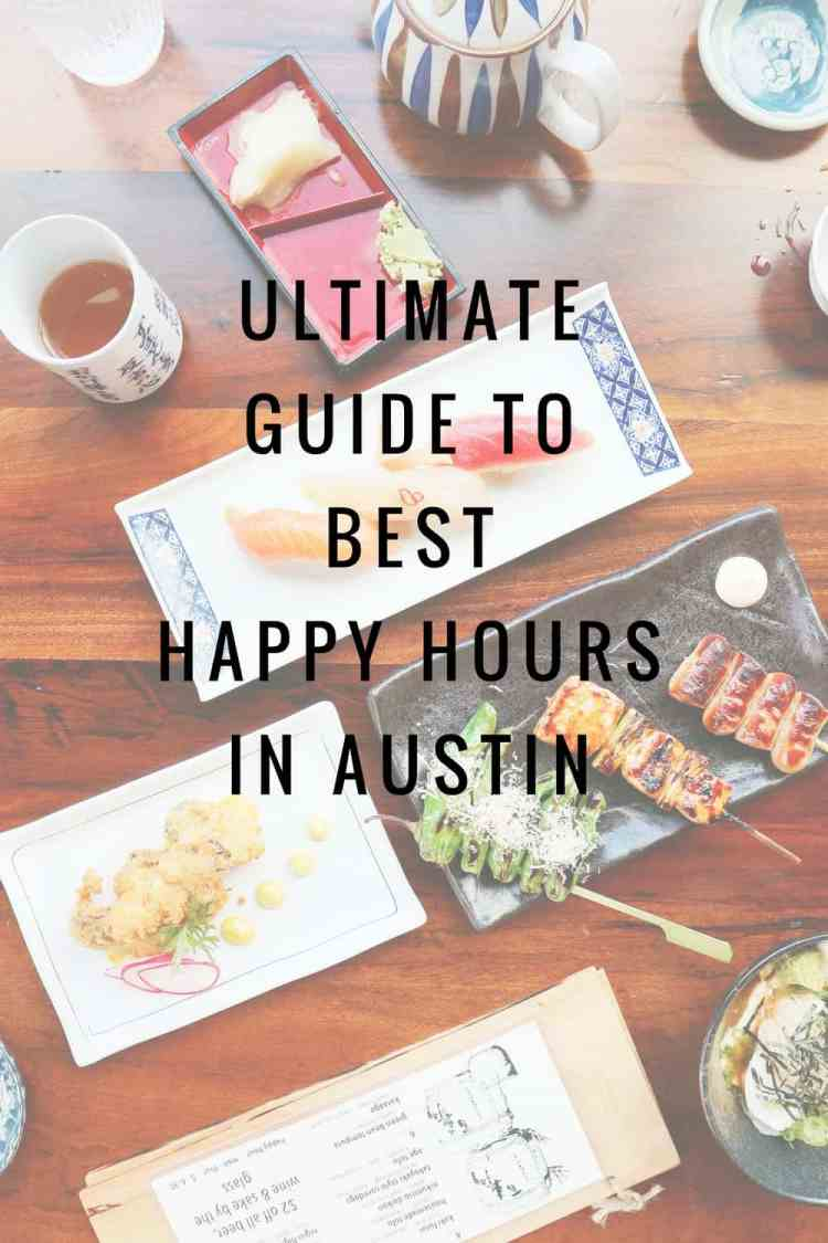 Ultimate Guide To Best Happy Hours In Austin