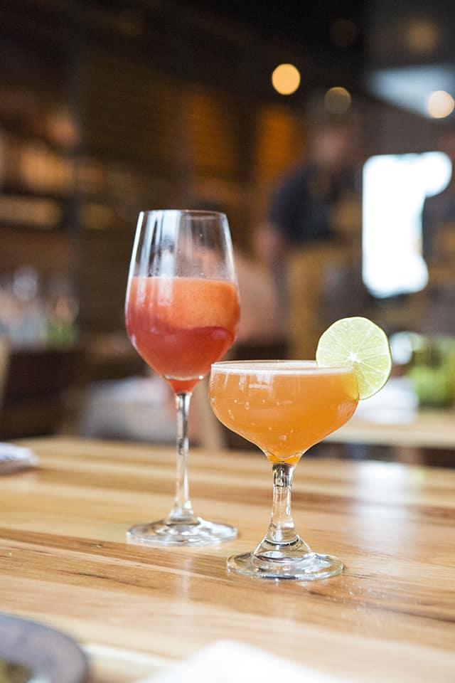 Cocktails at Qui Austin
