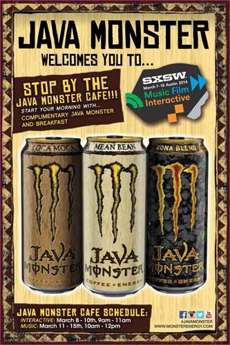 Java Monster SXSW