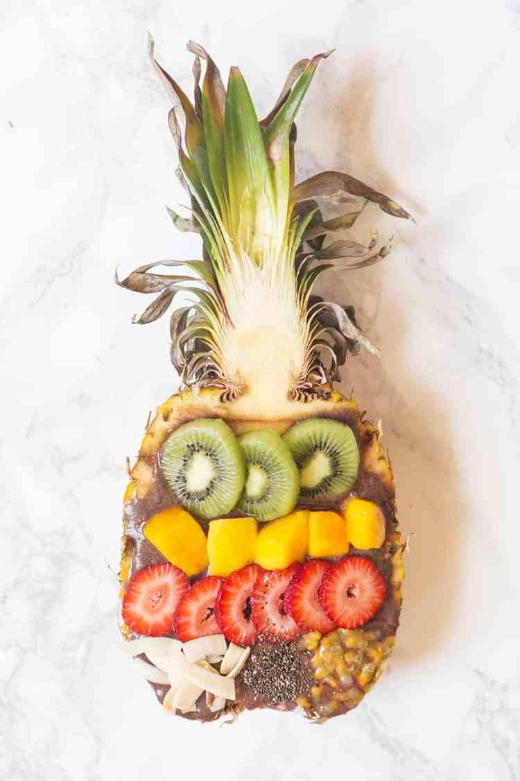 Acai Bowl Pineapple