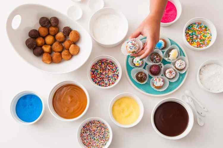 Donut Hole Party