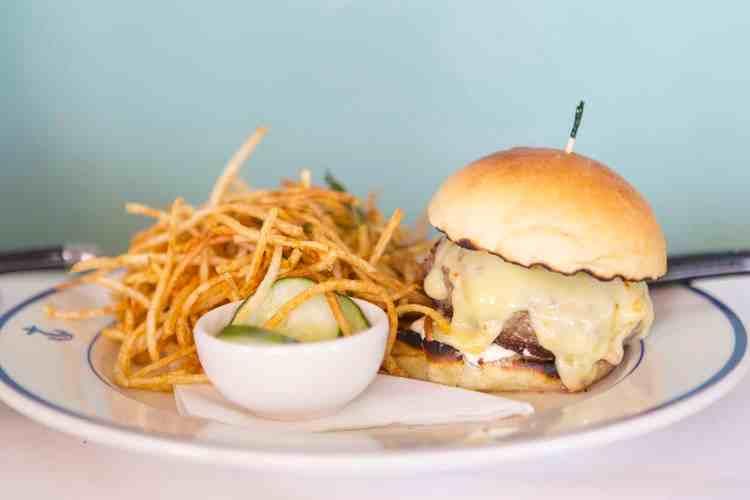 Clark's Oyster Bar Burger