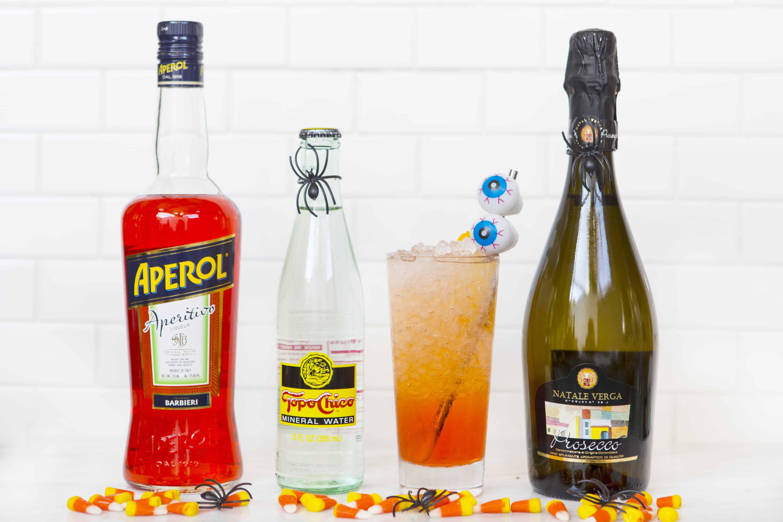 Halloween Cocktail: Aperol Spritz