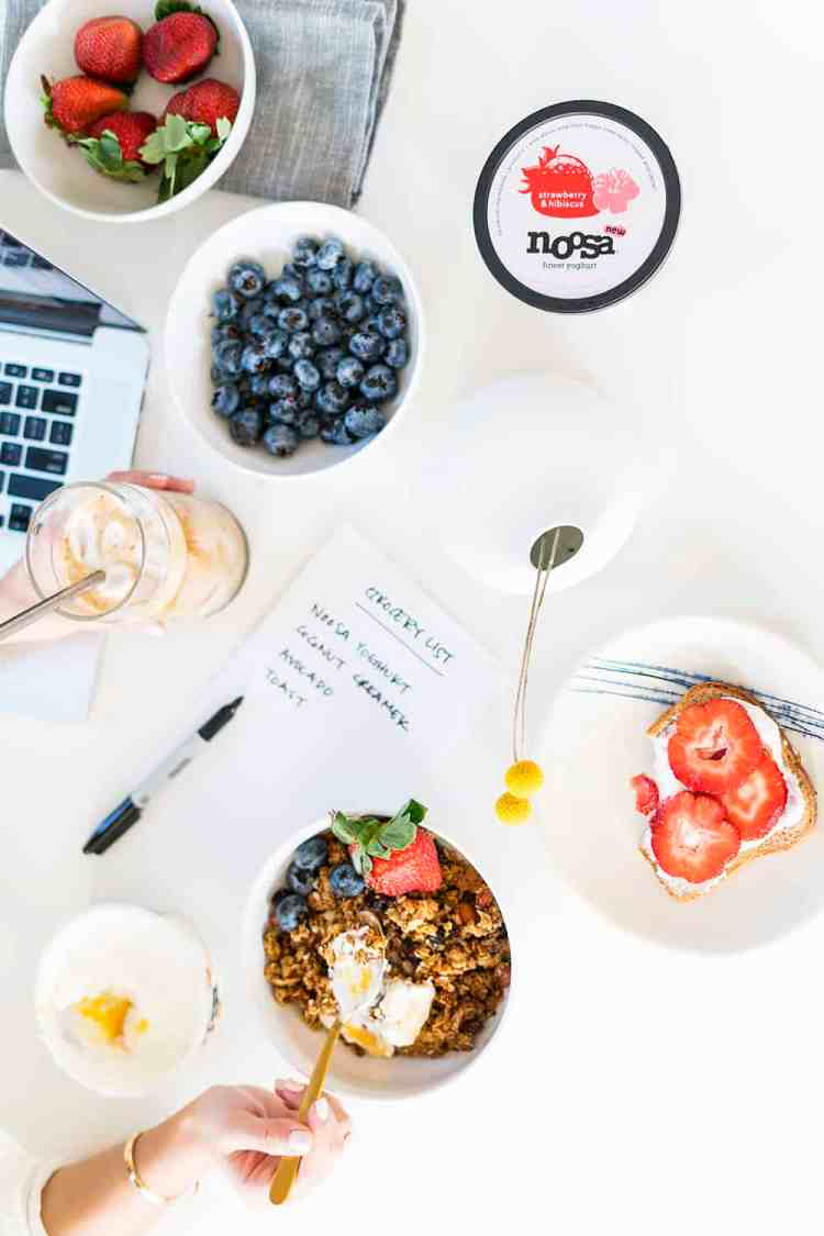 My Morning Routine with Noosa Yoghurt