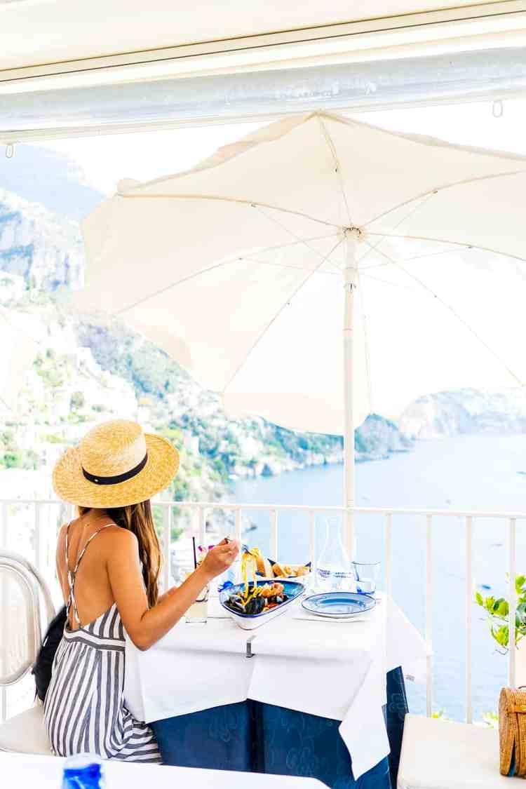 Cafe Positano, Amalfi Coast