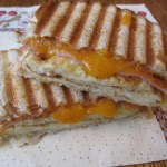 Grilled Ham, Egg and Cheese Sandwich
