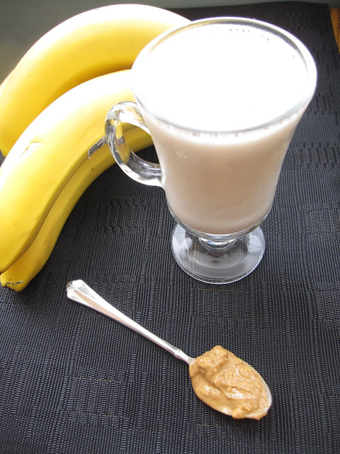 Peanut Butter Banana Smoothie Recipe