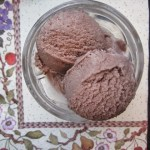 Chocolate Frozen Yogurt with Greek Yogurt
