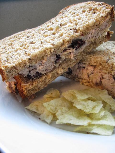 Cranberry Potato Chip Tuna Salad
