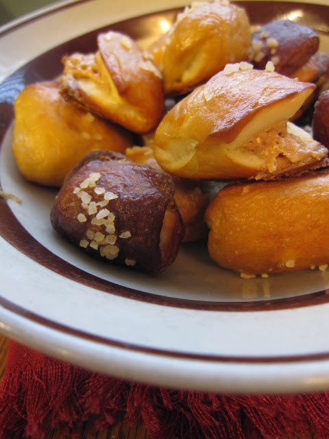 Peanut Butter Filled Pretzel Bites