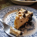 4 Ingredient Greek Yogurt Peanut Butter No Bake Cheesecake