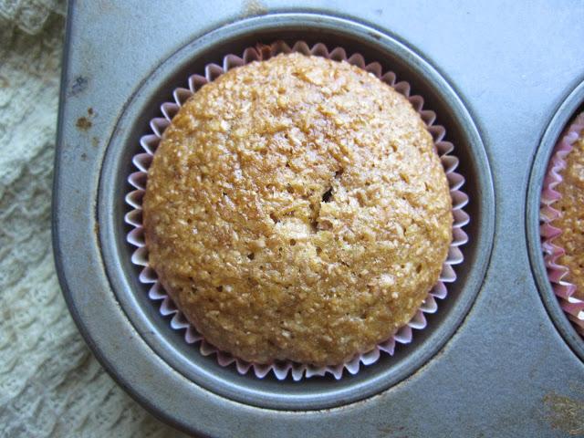 Honey Raisin Bran Muffins