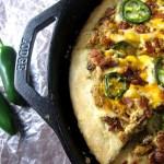 Jalapeno Popper Skillet Pizza