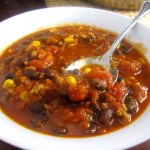 5 Ingredient Corn and Black Bean Chili