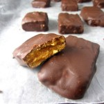 Homemade Butterfinger Chocolate Bars