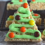 Rice Krispie Christmas Trees