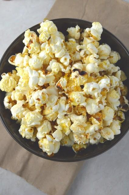 Tabasco Popcorn