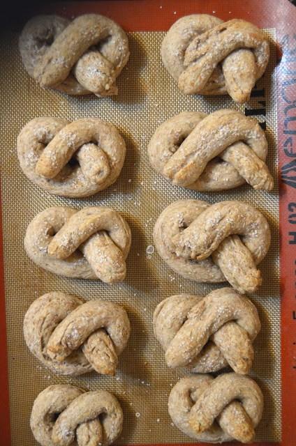 Whole Wheat Pretzels