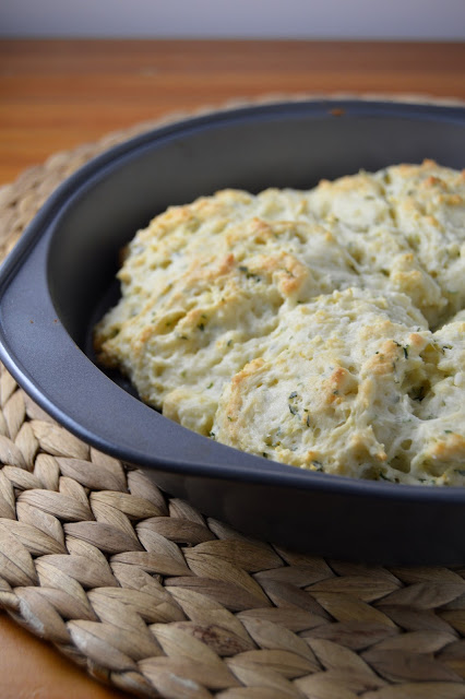 Sour Cream and Parsley Scones