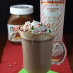 Boozy Peppermint Nutella Hot Chocolate Recipe