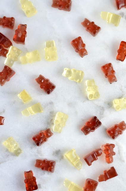 Grape Fruit Juice Gummy Bears Recipe