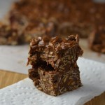 Peanut Butter, Chocolate and Oats Fudge