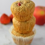 Strawberry Apple Muffins