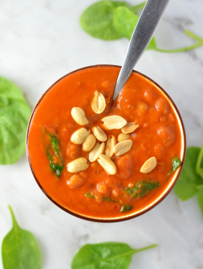 Sweet Potato and Peanut Soup