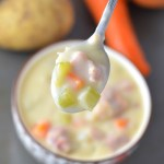 Cream of Potato and Ham Soup