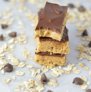 Oat and Chocolate Protein Bars