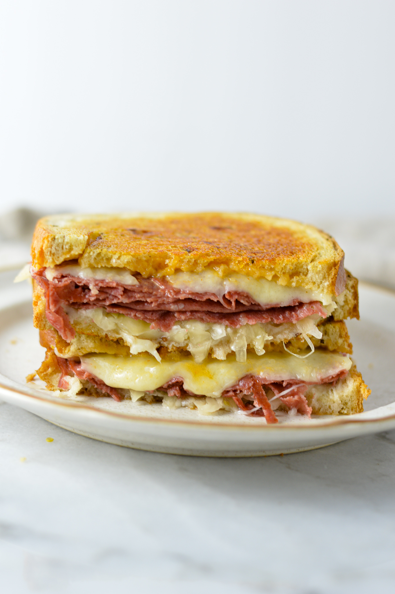 Reuben Sandwich A Taste Of Madness