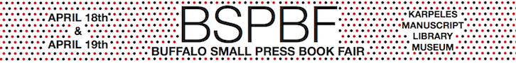 The Buffalo Small Press Book Fair-Post Fair Review