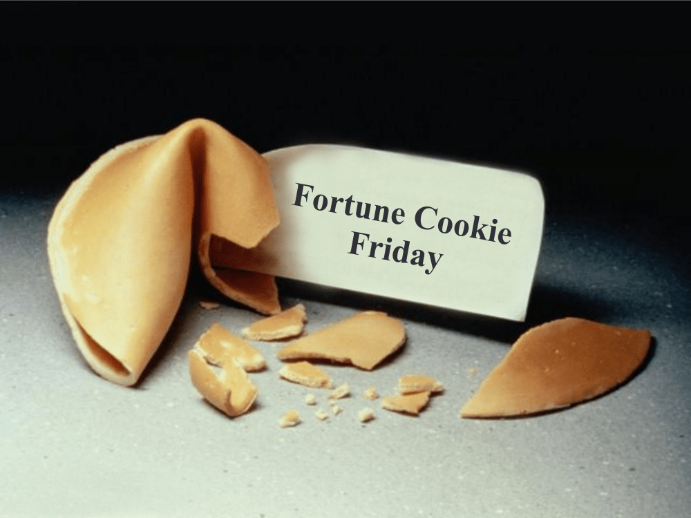 Fortune Cookie Friday: Character Counts