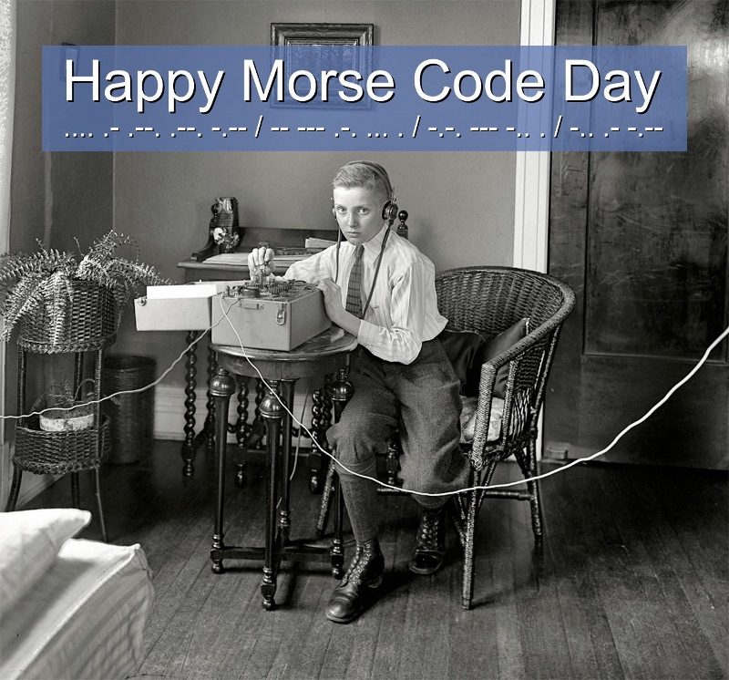 Happy Morse Code Day