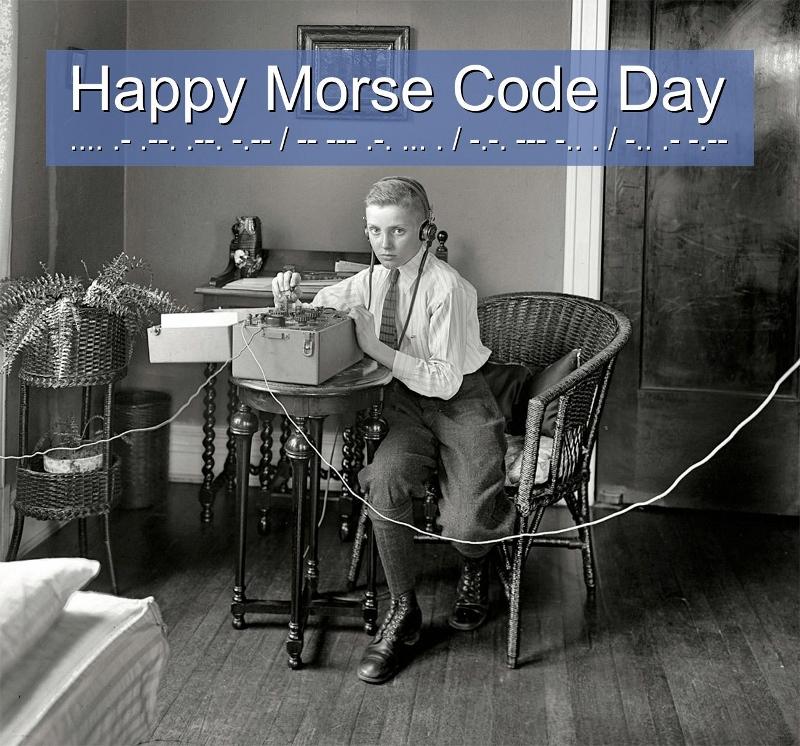 Happy Morse Code Day