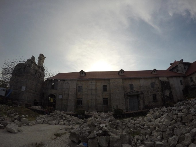 The Historical Baclayon Church, Bohol Philippines